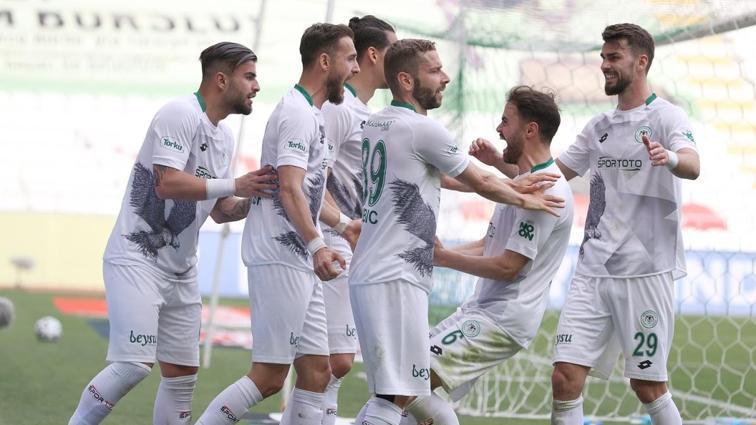 Konyaspor'da büyük coşku: 'Galatasaray maçından sonra kenetlendiler'