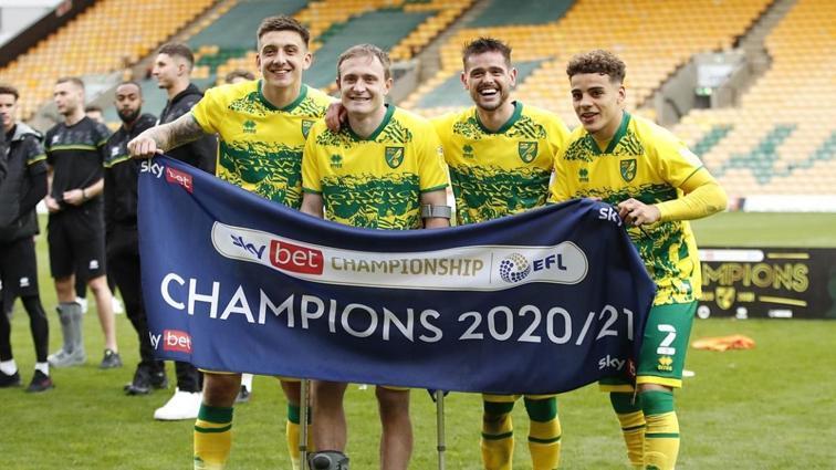 Norwich City, İngiltere Championship'te şampiyon oldu