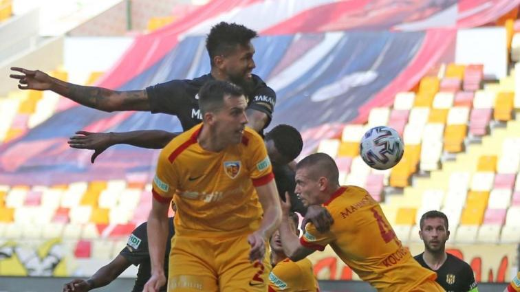 Alt sıraları ilgilendiren Yeni Malatyaspor - Kayserispor maçında galip yok