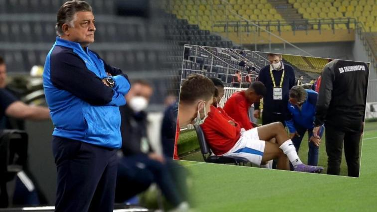 Fenerbahçe - BB Erzurumspor maçında Ricardo Gomes, oyuna girmeyi reddetti! Sebebi ise...