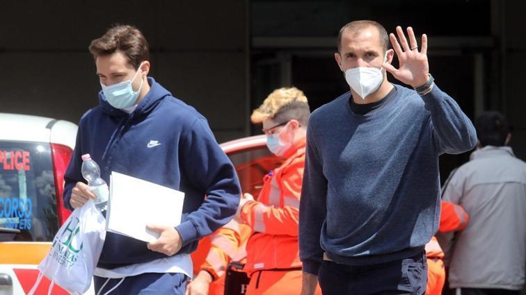EURO 2020 öncesi İtalya'da A Milli Futbol Takımı aşı oldu