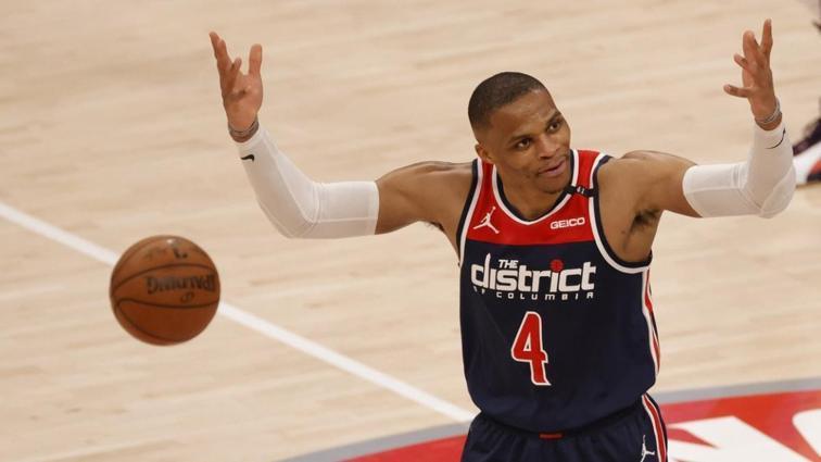 Russell Westbrook ve Carmelo Anthony NBA tarihine geçti