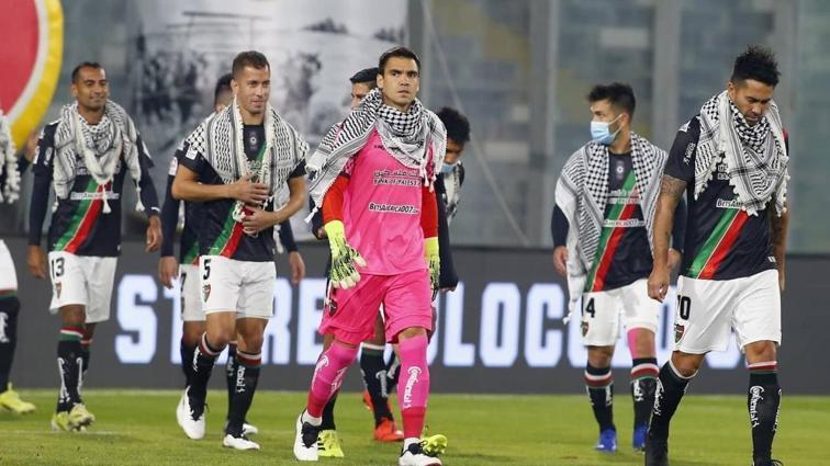 Filistin halkına dünyanın bir ucundan destek! Deportivo Palestino takımından anlamlı hareket