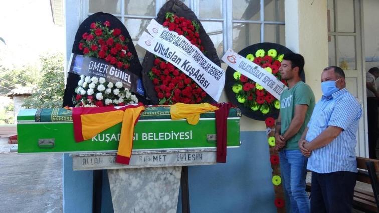 Maç esnasında kalp krizi geçirerek vefat eden Galatasaray taraftarı Muharrem Günay, son yolculuğuna uğurlandı