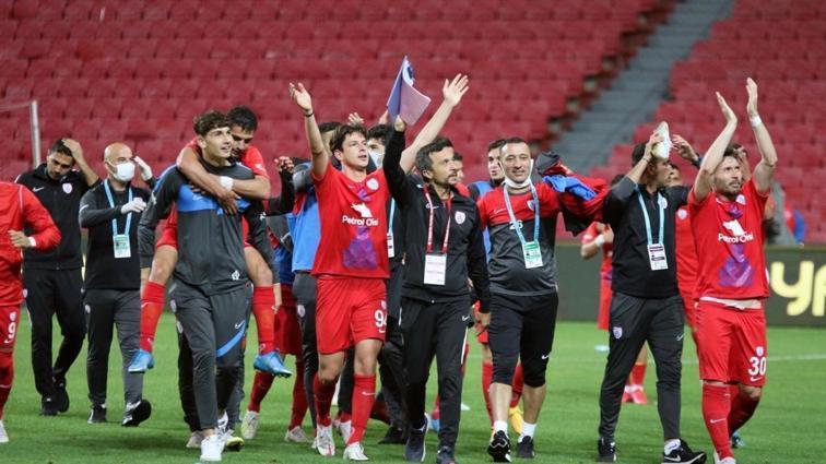 Süper Lig yolunda ikinci finalist Altınordu