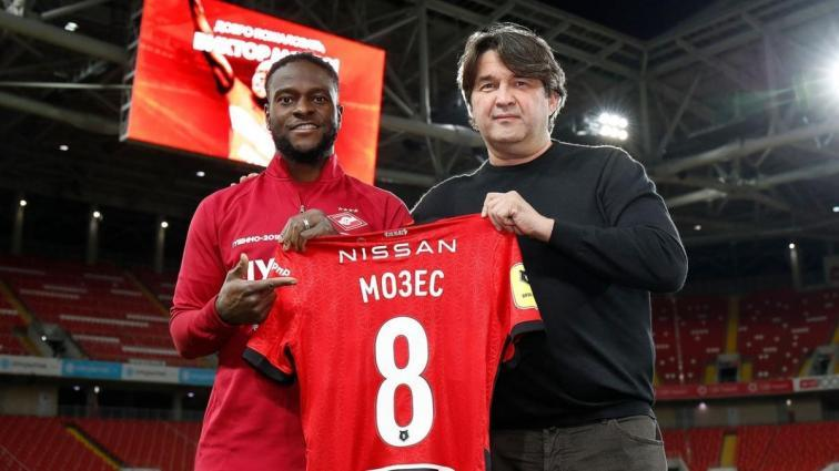Victor Moses Rusya'yı sevdi! imzayı attı...