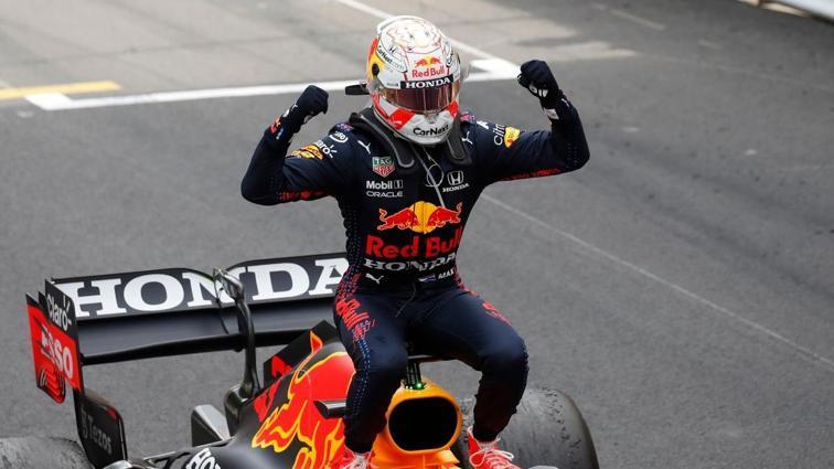 Max Verstappen, Formula 1 Monako GP'sinde zafere ulaştı