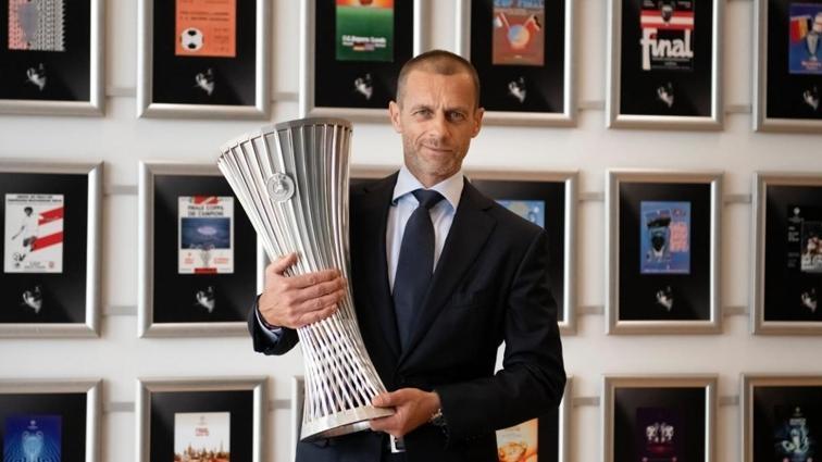 UEFA Avrupa Konferans Ligi kupası tanıtıldı