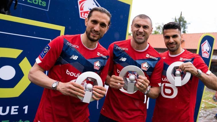 Lille'in milli yıldızlarından şampiyonluk ve EURO 2020 değerlendirmesi