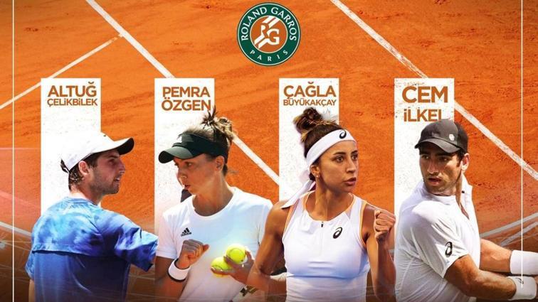 İki tenisçimiz Roland Garros elemelerinde turladı