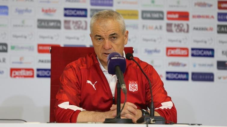 Sivasspor Teknik Direktörü Rıza Çalımbay, Avrupa'da ilk hedeflerini açıkladı