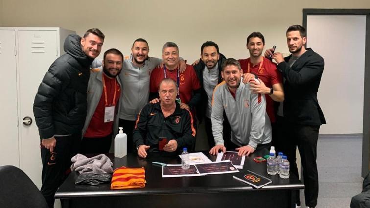 Galatasaray'da Levent Şahin ve Ümit Davala teknik ekipten ayrıldı