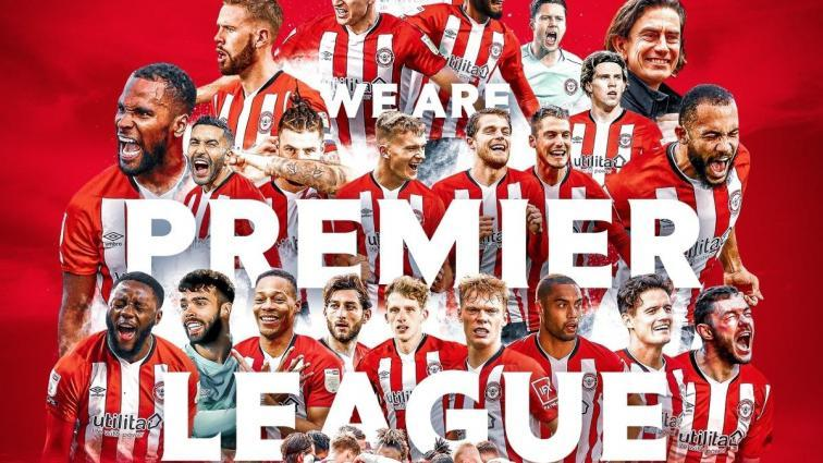 Brentford, Premier Lig'e yükseldi