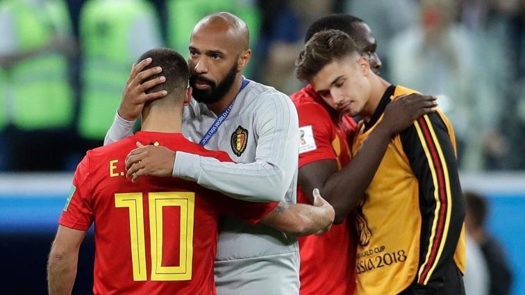 Thierry Henry, Belçika Milli Takımı'nda