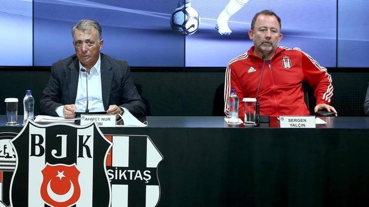 Beşiktaş'ta Sergen Yalçın ile görüşme başlıyor