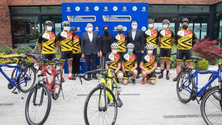 İstanbul'da pedallar eğitim için dönecek