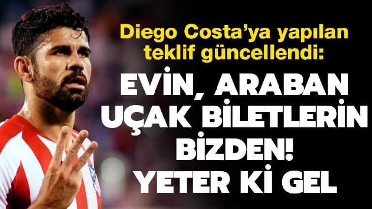 Son dakika transfer haberi: Beşiktaş, Diego Costa'ya yaptığı teklifi güncelledi