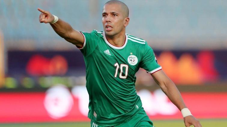 Sofiane Feghouli iki gol attı, Cezayir farklı kazandı