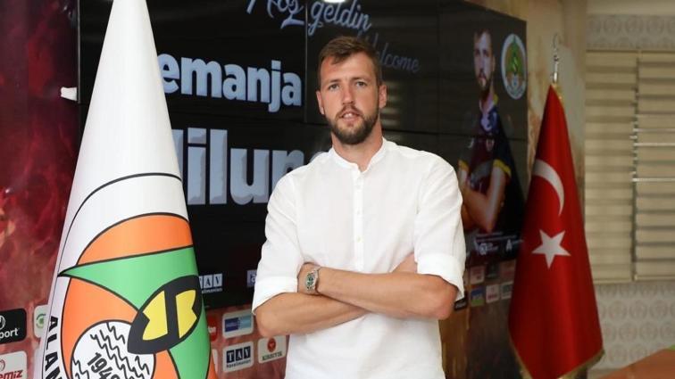 Alanyaspor ikinci transferini Nemanja Milunovic ile yaptı