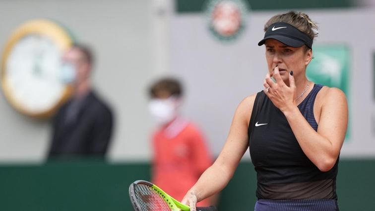 Elina Svitolina'dan Roland Garros'a erken veda
