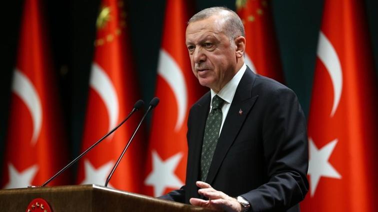 Başkan Recep Tayyip Erdoğan'dan Anadolu Efes'e tebrik