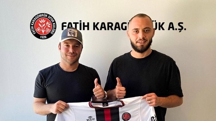 Fatih Karagümrük, Burak Bekaroğlu'nu transfer ettiğini duyurdu
