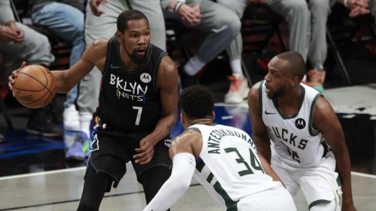 Bucks'a 39 sayı fark atan Brooklyn Nets, adım adım konferans finaline gidiyor
