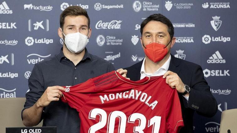 Osasuna, orta saha oyuncusu Jon Moncayola ile 10 yıllık sözleşme imzaladı