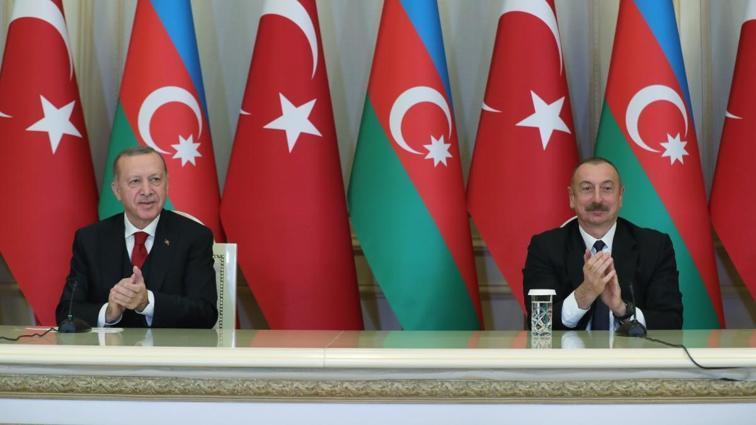 Başkan Erdoğan: Aliyev'le destekleyeceğiz