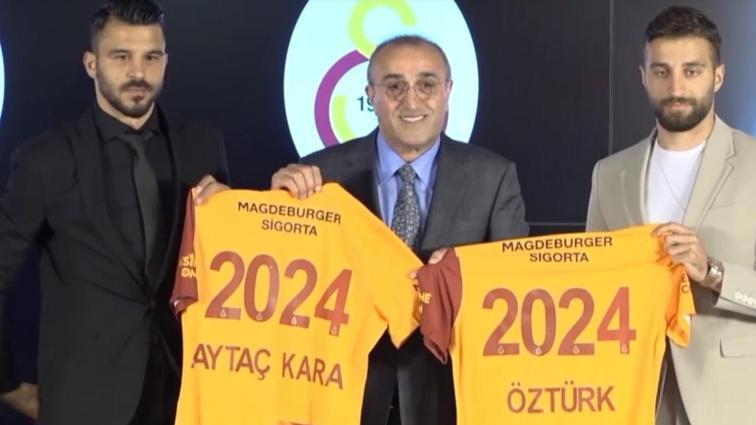 Alpaslan Öztürk ve Aytaç Kara'nın Galatasaray mutluluğu
