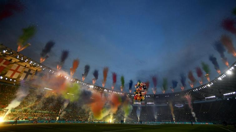 EURO 2020'de görkemli açılış seremonisi