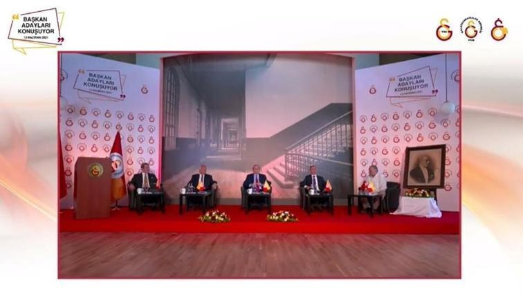 Galatasaray'da başkan adayları bir araya geldi