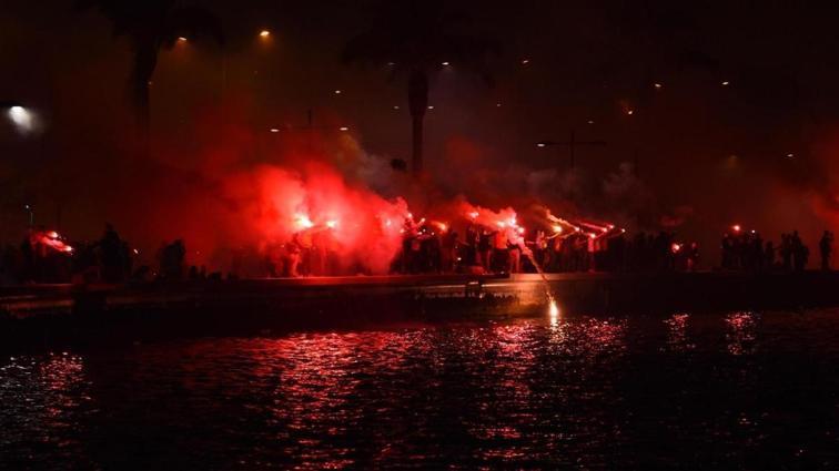 Göztepe'den coşkulu 96'ncı yıl kutlaması