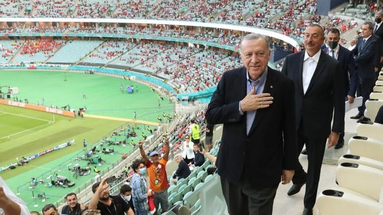 Başkan Recep Tayyip Erdoğan, Millileri yalnız bırakmadı