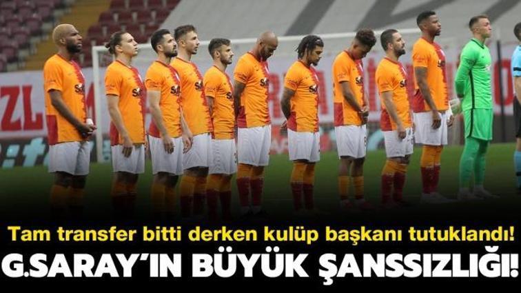 Son dakika Galatasaray haberleri... Galatasaray'a Gedson Fernandes şoku! Kulüp başkanı tutuklandı