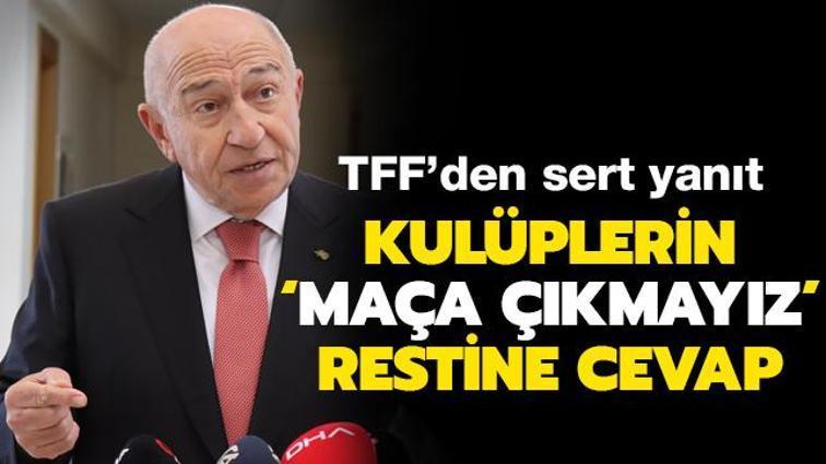 TFF'den Kulüpler Birliği'ne sert cevap! Yayıncı kuruluş ve yabancı kuralı...