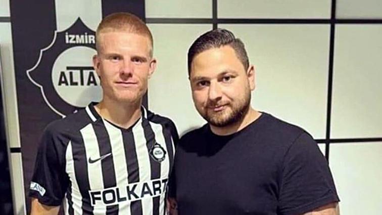 Altay ilk resmi transferini Eric Björkander ile yaptı