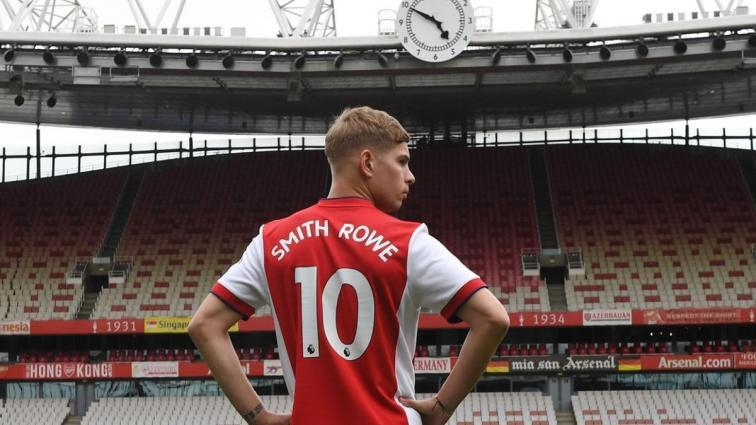 Arsenal'da 10 numaralı forma Emile Smith Rowe'a verildi