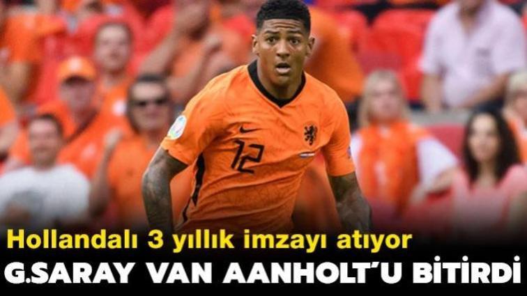 Galatasaray'da sol bek transferi de tamam! Aanholt ile anlaşıldı...