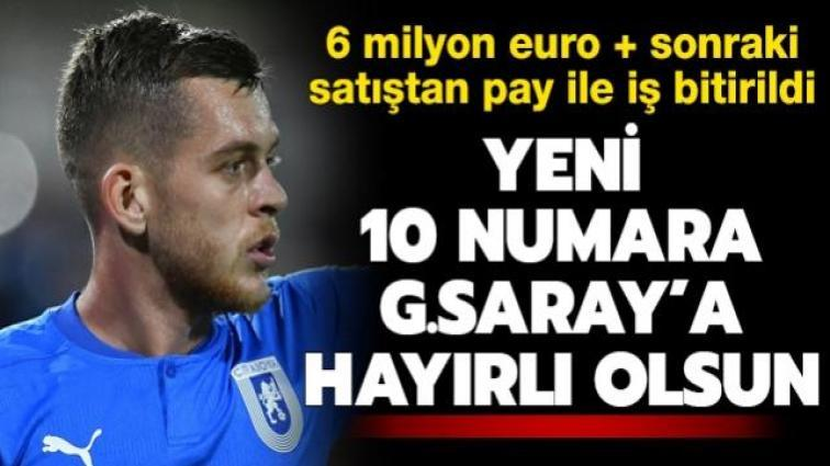 Son dakika transfer haberi: Galatasaray, Alexandru Cicaldau'yu kadrosuna kattı