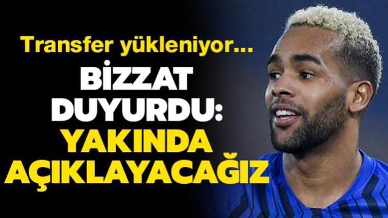 Son dakika transfer haberi: Beşiktaş'ın gündemindeki Alex Teixeira'dan açıklama geldi