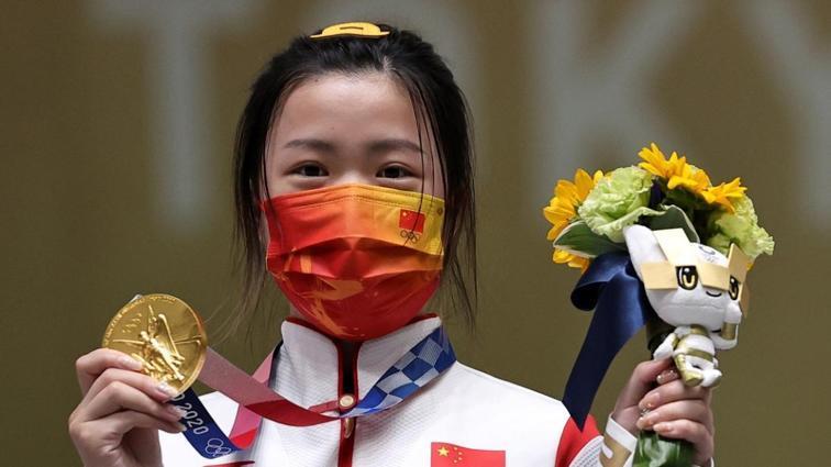 2020 Tokyo Olimpiyatları'nda ilk altın madalya Çinli atıcı Qian Yang'ın oldu