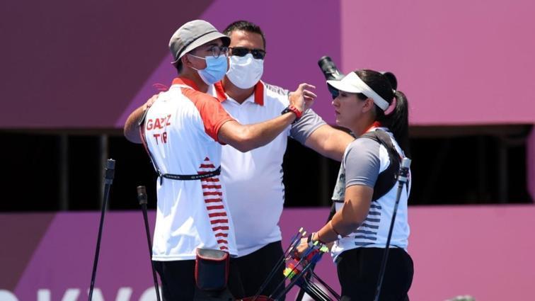 Mete Gazoz ve Yasemin Anagöz, 2020 Tokyo Olimpiyatları'nda 4. oldu