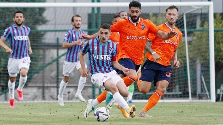 Trabzonspor ile Başakşehir'in mücadelesinde kazanan çıkmadı