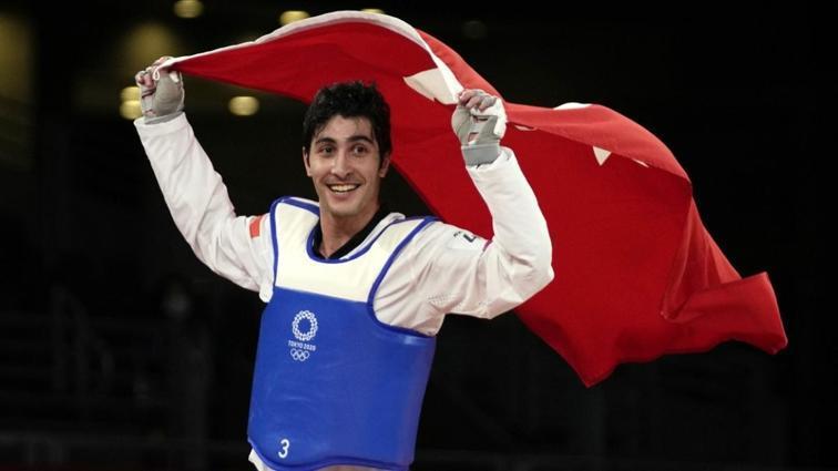 2020 Tokyo Olimpiyatları'ndaki ilk madalyamız Hakan Reçber'den geldi