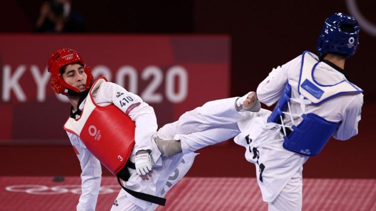 Milli tekvandocu Hakan Reçber, olimpiyatlarda çeyrek finale yükseldi