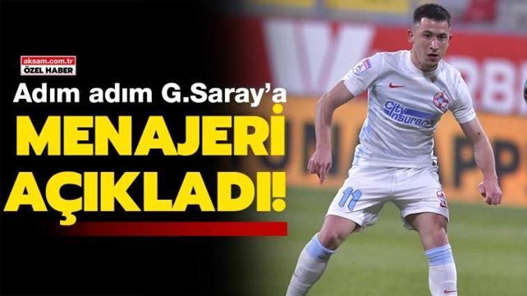 Son dakika Galatasaray transfer haberi... Menajeri açıkladı: Olimpiu Morutan adım adım Galatasaray'a