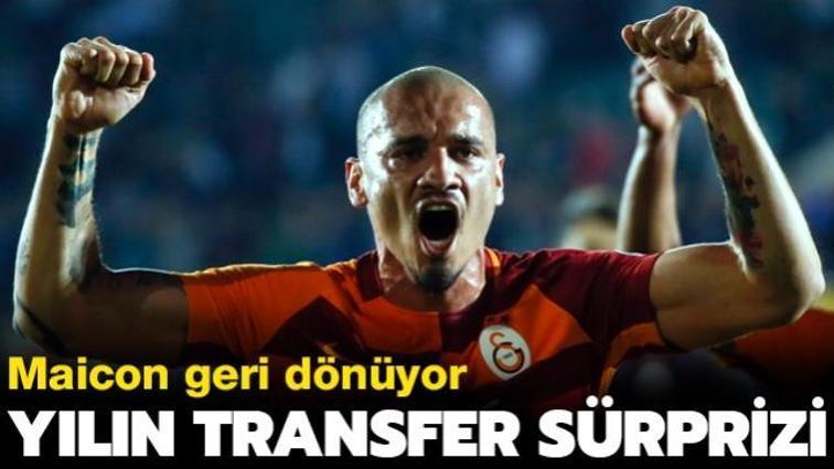 Son dakika transfer haberi: Göztepe, Maicon'u kadrosuna katıyor