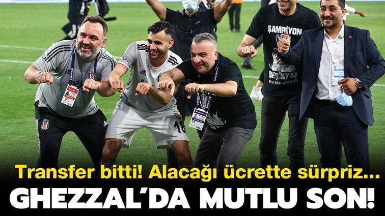 Son dakika Beşiktaş haberleri... Rachid Ghezzal transferinde mutlu son