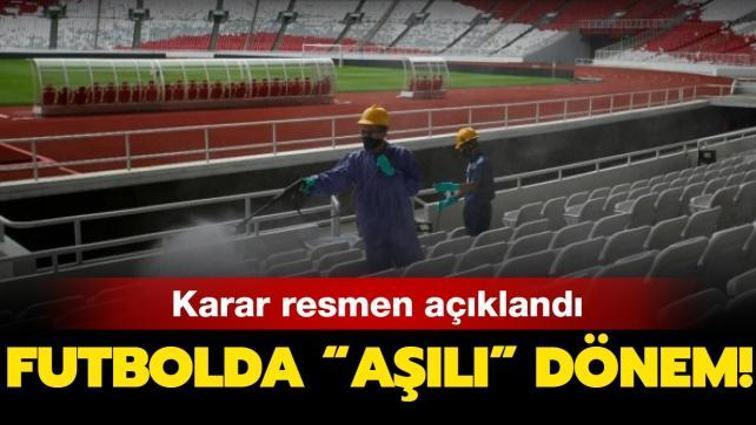 Son dakika haberi... Türkiye Futbol Federasyonu, stadyumlara giriş şartlarını açıkladı